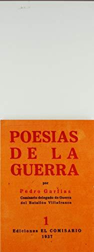 9788477984405: Poesías de la guerra (Literatura. Ediciones de Texto)