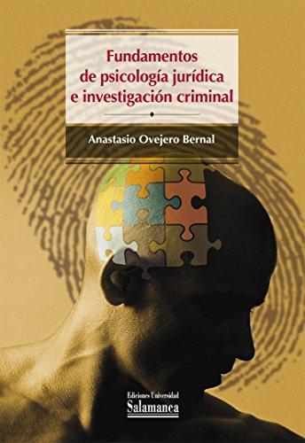 9788478002375: Fundamentos de psicología jurídica e investigación criminal (Colección Manuales Universitarios, 82)