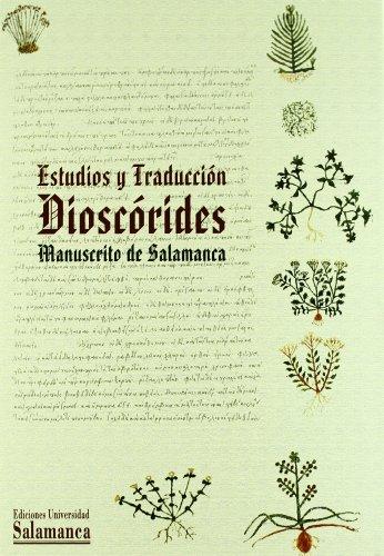 9788478004591: Dioscórides. Estudios y traducción (Obras de referencia)
