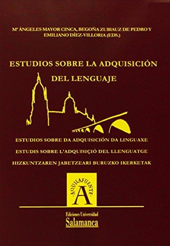 9788478005116: Estudios sobre la adquisición del lenguaje