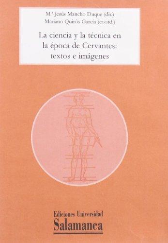 LA CIENCIA Y LA TÉCNICA EN LA: MANCHO DUQUE, M.ª