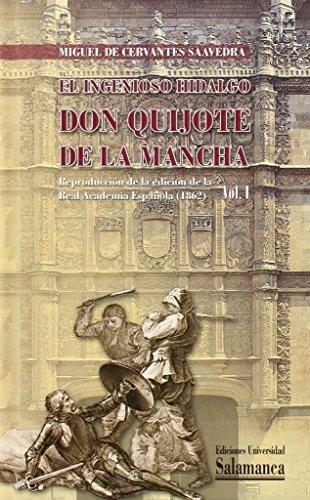 9788478005628: El ingenioso hidalgo don Quijote de la Mancha. Reproducción de la Edición de la Real Academia Española (1862)