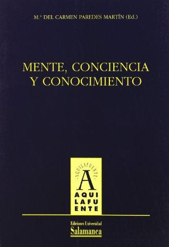 9788478008766: Mente, conciencia y conocimiento (Aquilafuente)