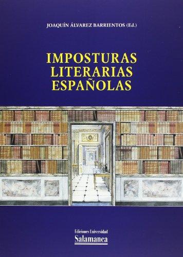 9788478009220: Imposturas literarias españolas (Spanish Edition)