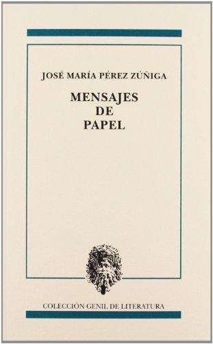 Mensajes de papel (Paperback): José María Pérez