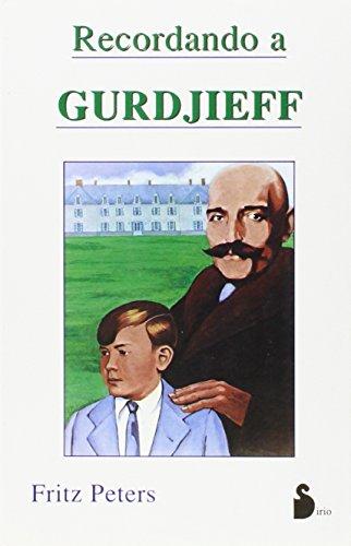 9788478081554: RECORDANDO A GURDJIEFF