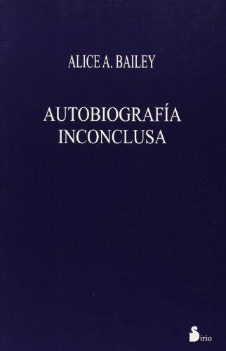 9788478082773: AUTOBIOGRAFIA INCONCLUSA (RUSTICA)