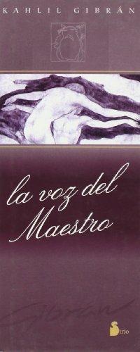 9788478083626: La Voz del Maestro (Spanish Edition)
