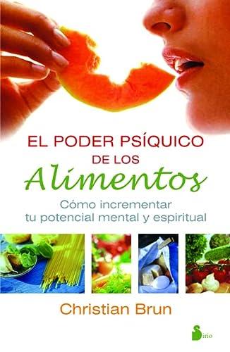 9788478085712: EL PODER PSIQUICO DE LOS ALIMENTOS (Spanish Edition)
