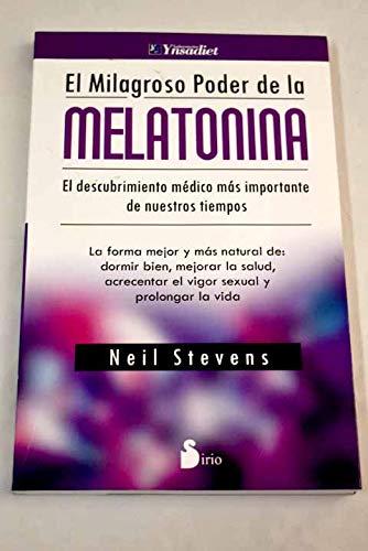 9788478087969: El milagroso poder de la melatonina