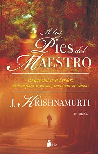 9788478088454: A los pies del maestro (Spanish Edition)