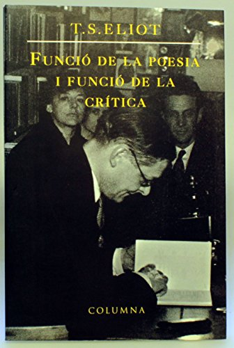 9788478097135: Funcio de La Poesia I Funcio de La (Col·lecció classica)