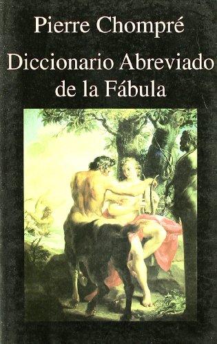 9788478131433: Diccionario Abreviado de La Fabula (Spanish Edition)