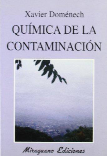 9788478131969: Química de la contaminación (Ecología)