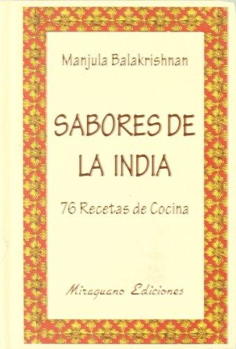 9788478132270: Sabores de la India. 76 recetas de cocina