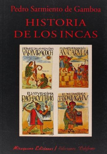 9788478132287: Historia de los Incas (Libros de los Malos Tiempos. Serie Mayor)
