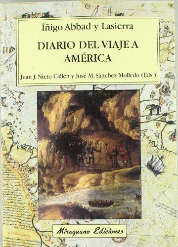 9788478132584: Diario del Viaje a America (Viajes y Costumbres) (Spanish Edition)