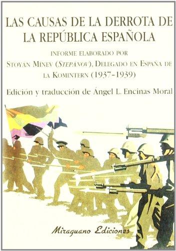 9788478132669: Causas de la derrota de la República española, Las