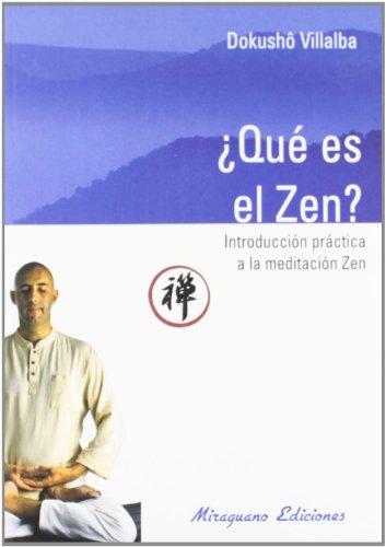 9788478132867: Que Es El Zen? (Spanish Edition)