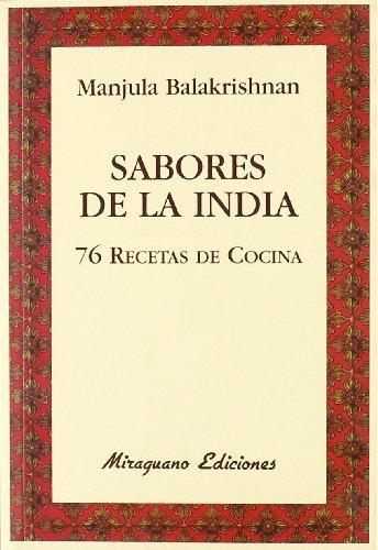 9788478133727: Sabores de la India. 76 recetas de cocina