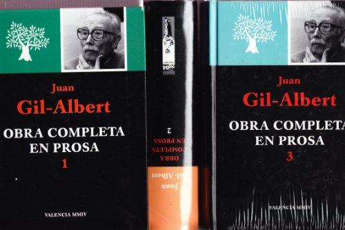 9788478224210: Obra completa en prosa. tres volumenes