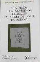 9788478250486: Novisimos, postnovisimos, clasicos (Tratados de crítica literaria)