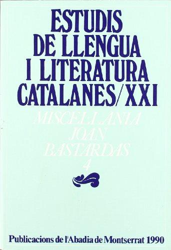 Miscel lània Joan Bastardas, 4 (Estudis de