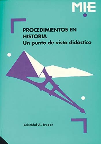 9788478271139: Procedimientos En Historia: 010 (Mie - Castella)