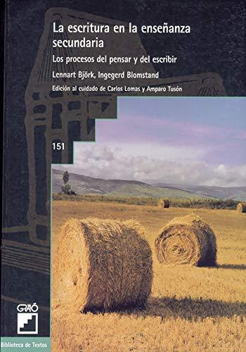9788478272426: La Escritura en la Ensenanza Secundaria (Spanish Edition)