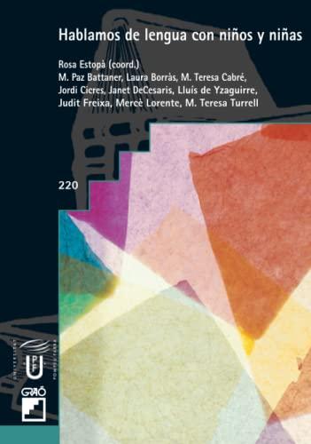 9788478274253: Hablamos de Lengua Con Ninos y Ninas (Spanish Edition)