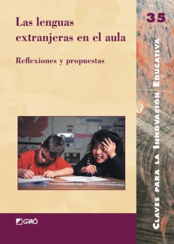 9788478274277: Las Lenguas Extranjeras En El Aula (Spanish Edition)