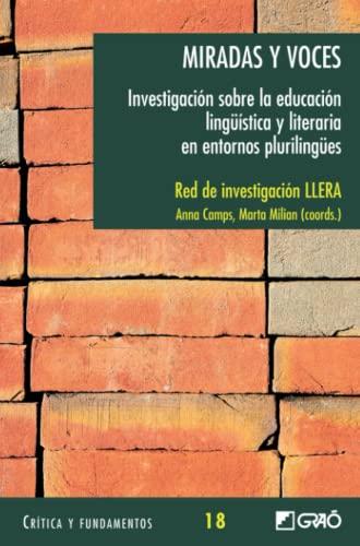 Miradas y Voces: Investigacion Sobre la Educacion: Alicia Peralta Serrano,