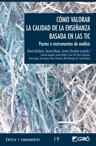 9788478275304: Cómo valorar la calidad de la enseñanza: Pautas e Instrumentos de Analisis (Spanish Edition)