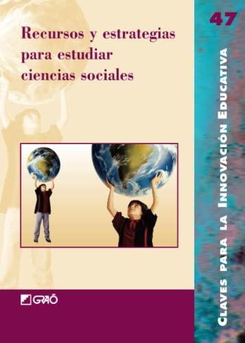9788478277025: Recursos y estrategias para estudiar ciencias sociales: 047 (Editorial Popular)
