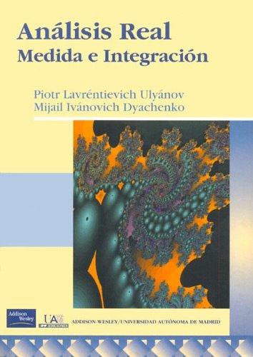 9788478290291: Analisis Real - Medida E Integracion (Spanish Edition)