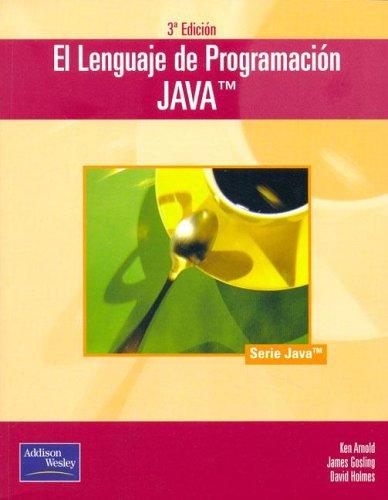 9788478290451: El Lenguaje de La Programacion Java