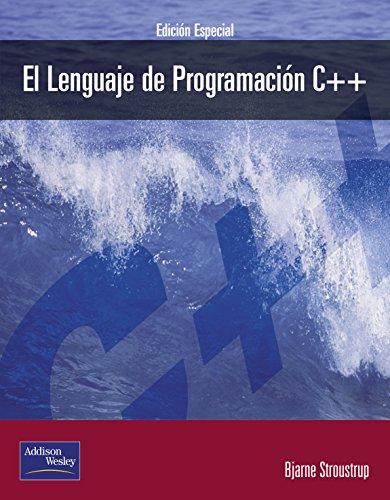 El Lenguaje De Programacion C++: Bjarne Stroustrup