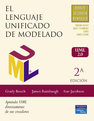 El Lenguaje Unificado de Modelado, Manual de: RUMBAUGH, JAMES