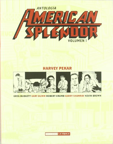 9788478339372: Antología American Splendor 1 (Novela gráfica)