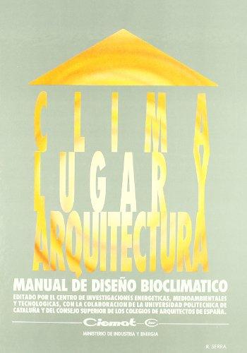 9788478340163: Clima, lugar y arquitectura (Serie Publicaciones cientificas) (Spanish Edition)