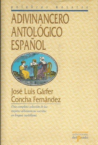 Adivinancero Antologico Espaol (Palabras Mayores) (Spanish Edition): Fernandez Martorell, Concha,