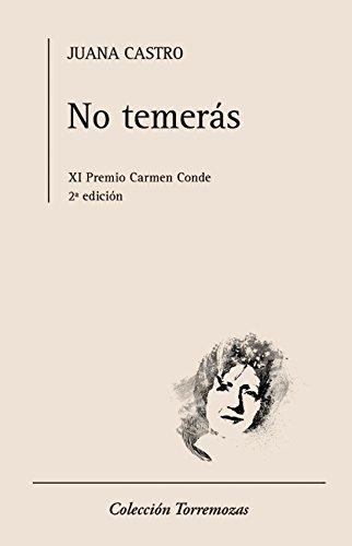 9788478396658: No temerás: XI Premio Carmen Conde