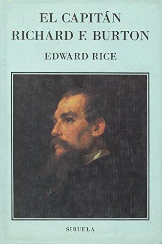 9788478441198: El Capitan Richard F. Burton (Libros Del Tiempo)