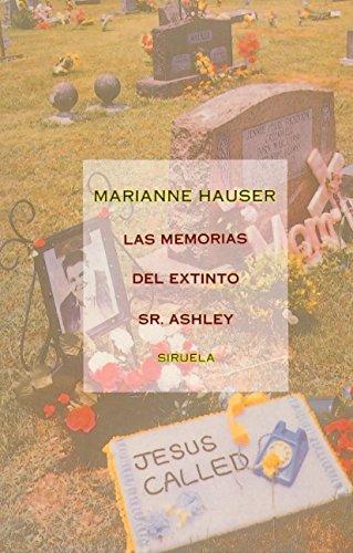 9788478441655: Memorias del Extinto Sr.Ashley