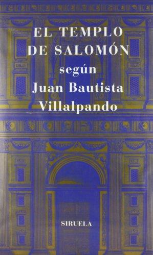 9788478443024: El Templo de Salomon/ Salomon's Temple (Spanish Edition)