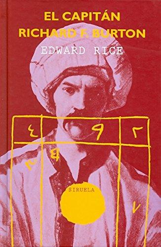 9788478444632: El capitán Richard F. Burton (Libros del Tiempo)