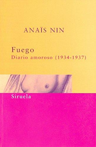 9788478445226: Fuego. Diario Amoroso 1934-1937 (Spanish Edition)