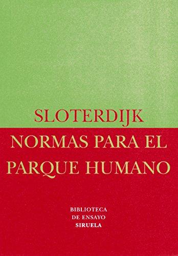 9788478445356: Normas para el parque humano (Biblioteca De Ensayo: Serie Menor) (Spanish Edition)