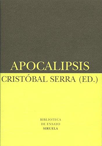 9788478446575: Apocalipsis (Biblioteca de Ensayo / Serie menor)