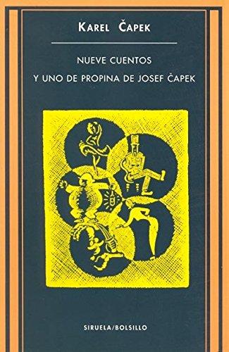 9788478446933: Nueve cuentos y uno de propina de Josef Capek (Siruela/Bolsillo)